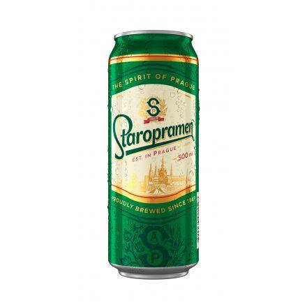 Пиво Старопрамен ж/б 0,5л