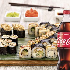 Унаги сет + Coca-Cola  1 л 1 шт.