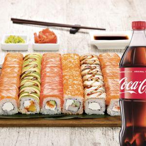 Сет Філадельфія + Coca-Cola 1 л 1 шт.