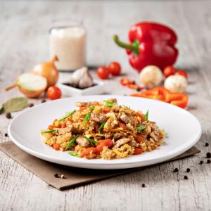 Thai rice with chiken