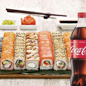Сет Мікс + Coca-Cola 1 л 1 шт.