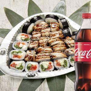 Сет Хит праздничный + Coca-Cola  1 л 1 шт.