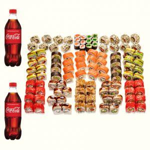 Сет Праздничный + Coca-Cola  1 л 2 шт.