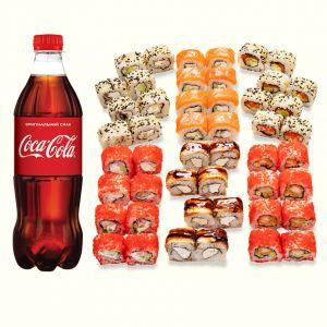Сет Микс + Coca-Cola  1 л 1 шт.