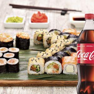 Сет Лосось + Coca-Cola  1 л 1 шт.