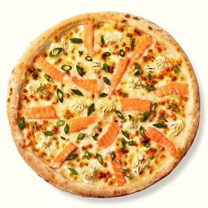 Піца Філадельфія з лососем