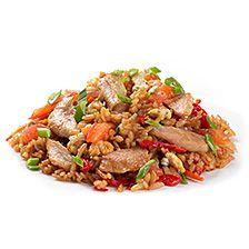Тайский рис со свининой