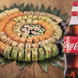 Сет Святковий + Coca-Cola   1 л 2 шт.