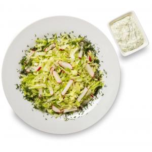 Салат з редисом та капустою
