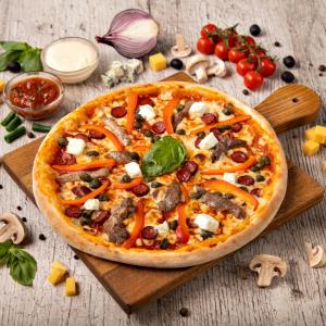 Pizza Balcanian