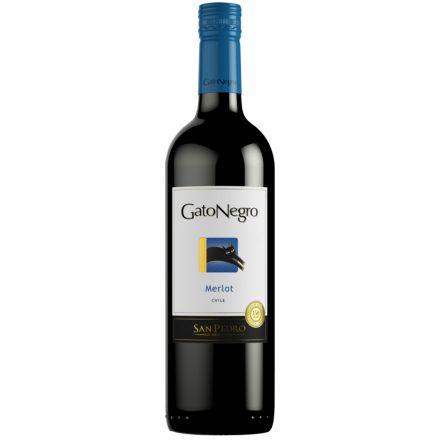 Вино Gato Negro Мерло красное сухое
