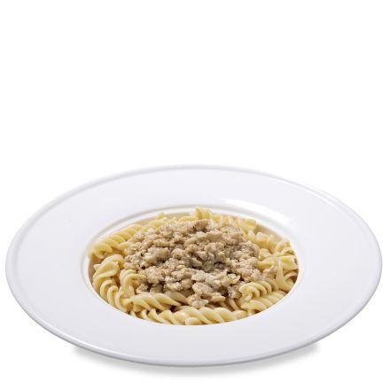 Паста Болоньез куриный с сыром