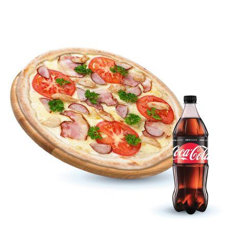 Капоне+Coca-cola Zero 1 л