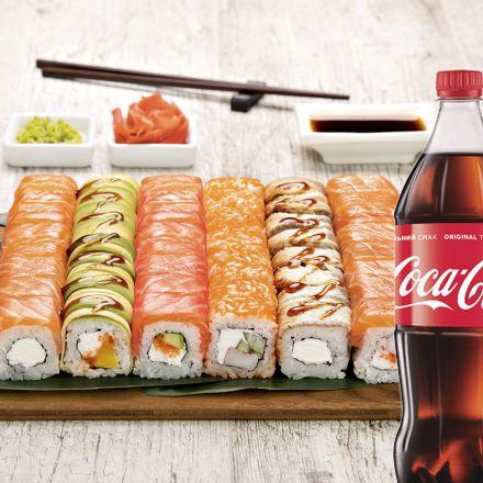 Сет Филадельфия + Coca-Cola  1 л 1 шт.