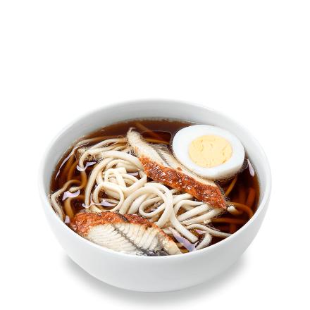 Суп с угрем и яйцом
