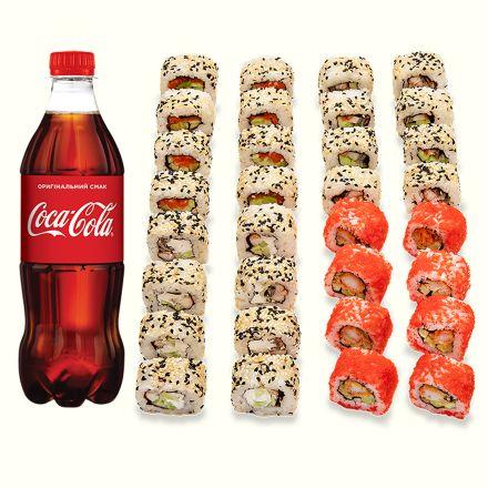 Set California + Coca-Cola 1 l - 1b.
