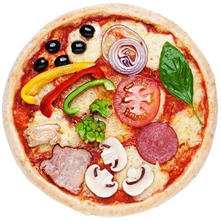 Піца за рецептом (томатна)