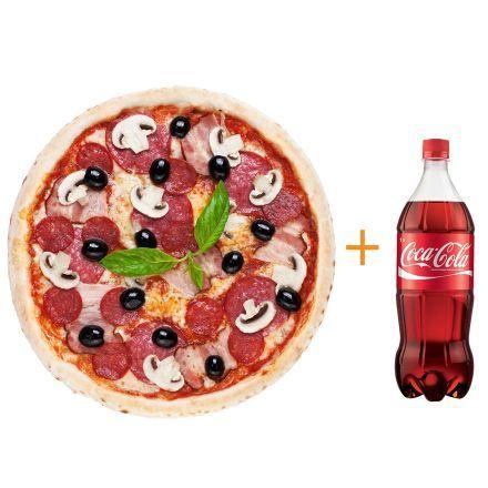 Каччиаторе+                                     Coca-cola 1 л
