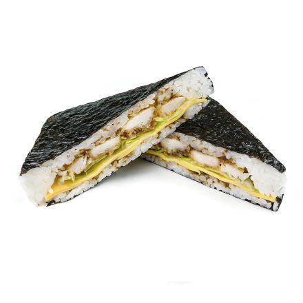 Суши-сендвич с курицей