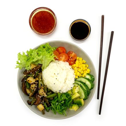 Poke Bowl Vegetarian