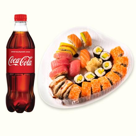 Seth Rainbow + Coca-Cola 1l