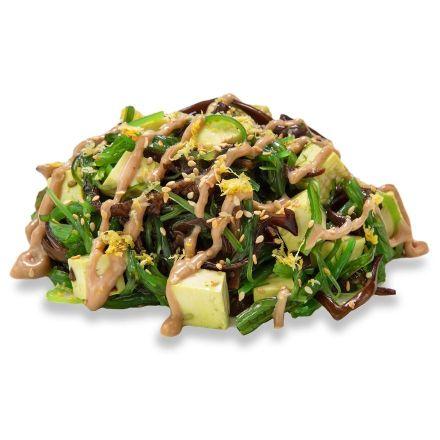 Сивид с тофу и древесным грибом