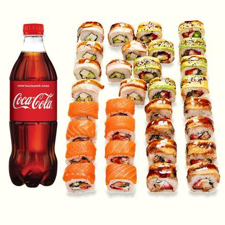 Set Dragons + Coca-Cola 1 l - 1b