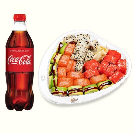 Сет Сердце Фаворит + Кока-кола 1л (1шт)