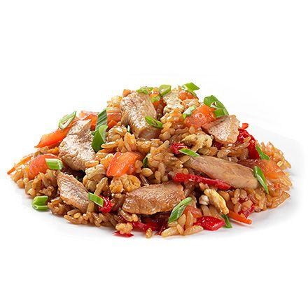 Тайський рис зі свининою