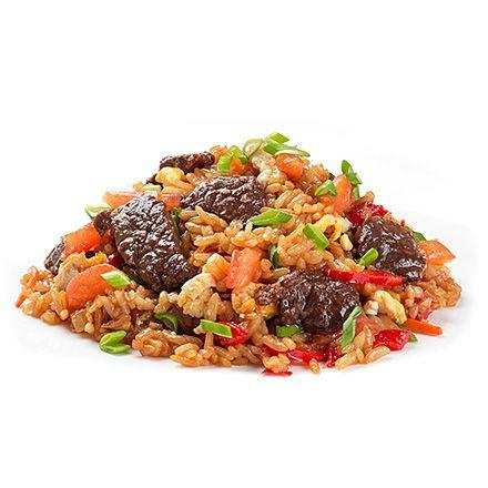 Тайский рис с телятиной