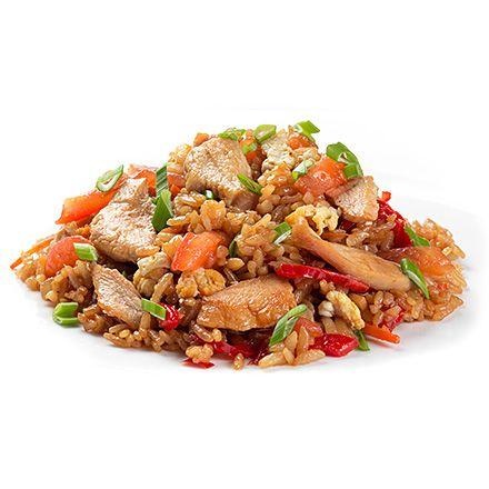 Тайський рис з куркою