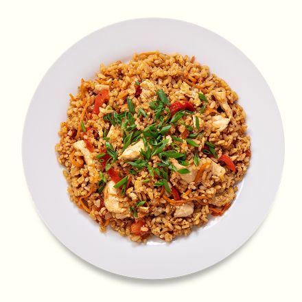 Тайский рис с курицей