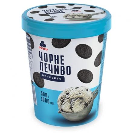 Мороженое Черное печенье