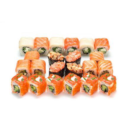 Сет фирменных суши и роллов + Coca-cola 0,5 л