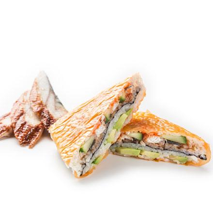 Суши-сендвич с угрем