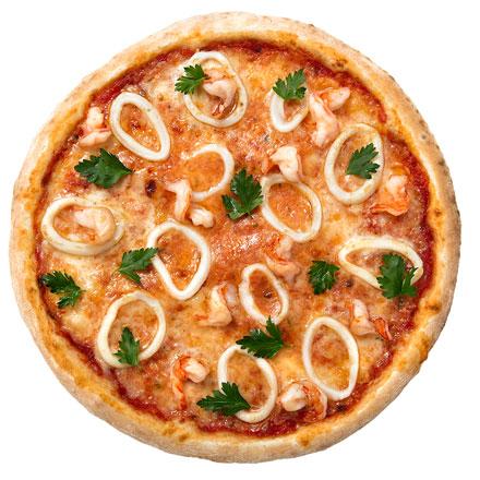 Marine pizza