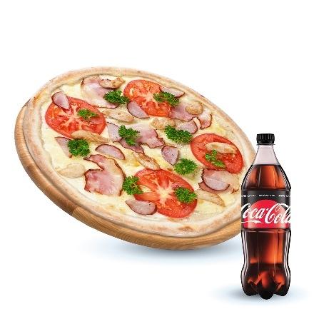 Capone + Coca-cola 1l