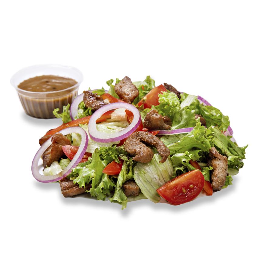 Салат з телятиною ланч