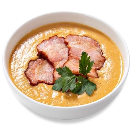 Crème lentil soup