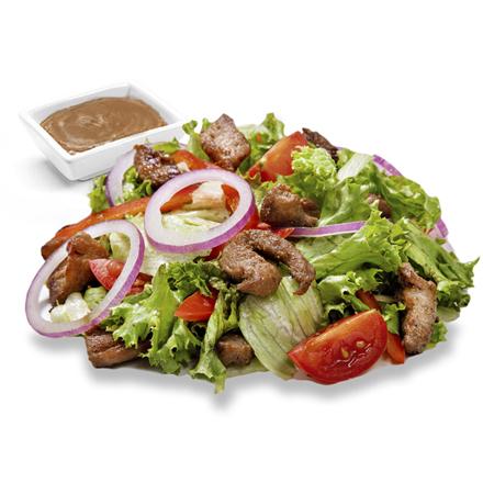 Салат з телятиною