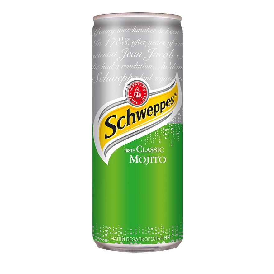 Schweppes Мохито 0,33 л