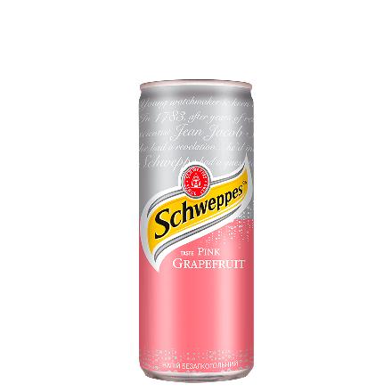 Schweppes Pink Grapefruit 0,33 l