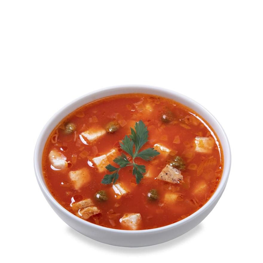 Суп з каперсами ланч